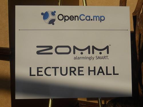 ZOMM Titanium Opencamp Sponsor