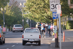 Bike traffic in The Vancouver Gap-5