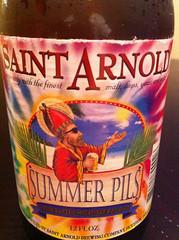 Saint Arnold Summer Pils Label