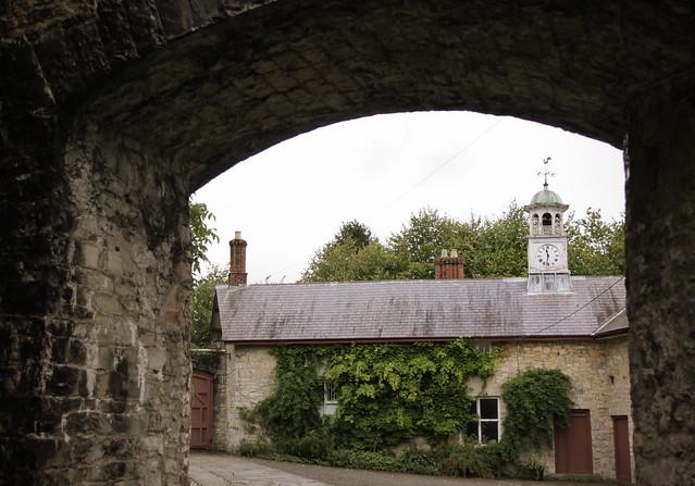 St Fagans Castle - courtyard