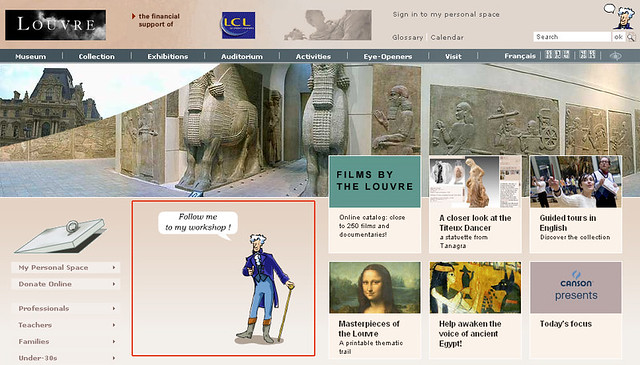 Site Louvre 1