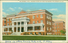 Miller Bell Hall, Georgia State College for Women, Milledgeville, Ga. - Front Side