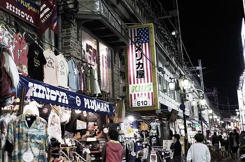 上野周辺高架沿い