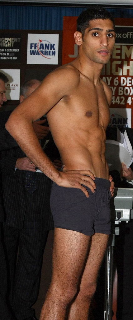 Big Bulge of Amir Khan