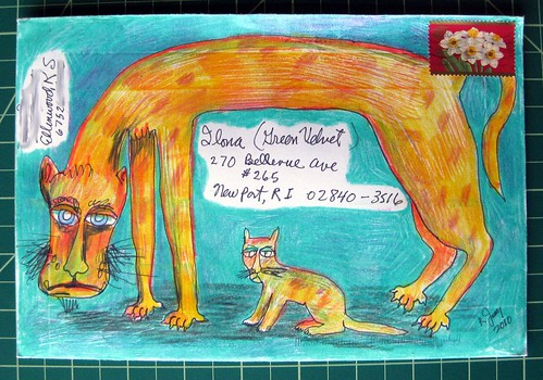 Bobberdilly's envelope critters