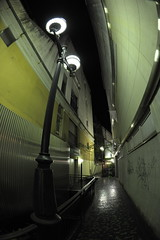 Alley (The 2-Belo) Tags:  gifu shoppingarcade  yanagase 16mmfisheye