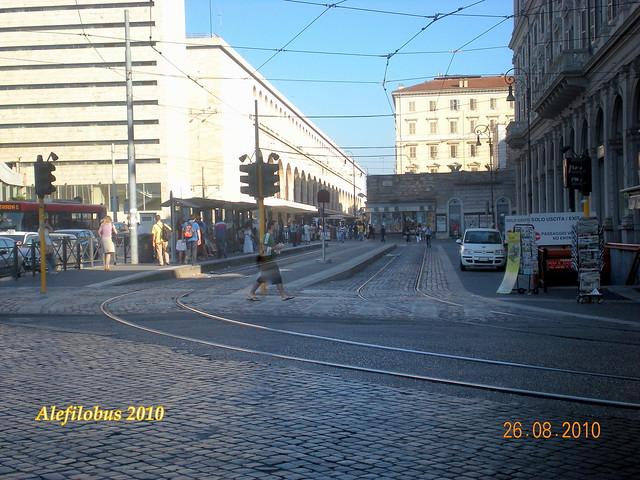 ROMA nuovo capolinea tranviario alla stazione TERMINI