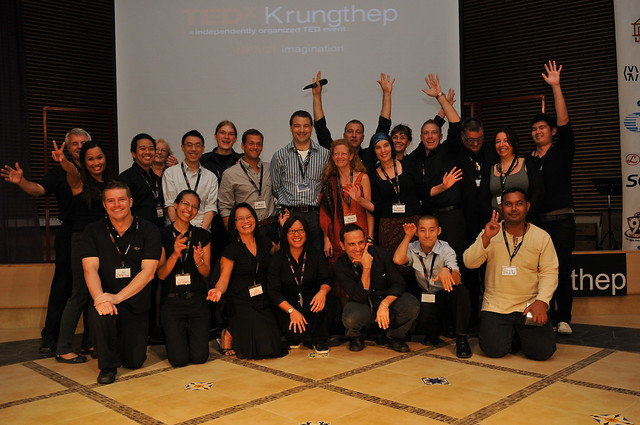 TEDx Krungthep Team and Speakers