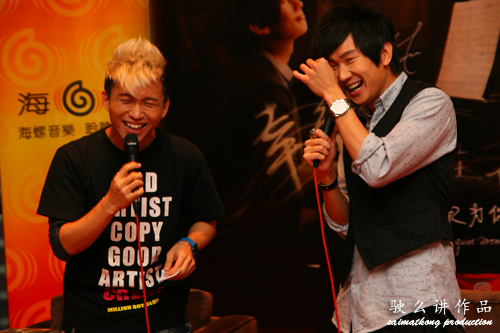 JJ Lin Meet and Greet Session @ Berjaya Times Square