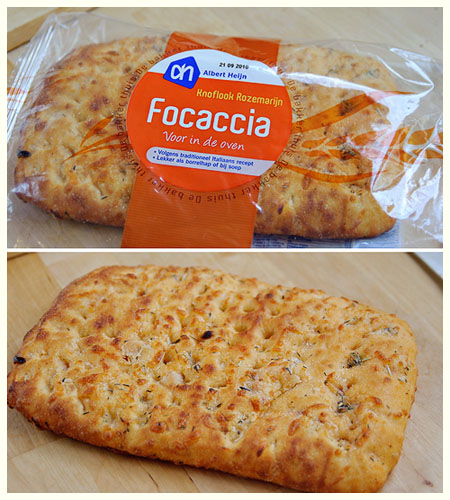 Grilled Focaccia