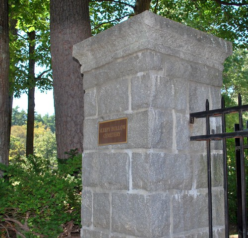 Gate at Sleepy Hollow Cemetery