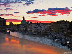 Dawn (Dora Joey) Tags: venice sunset color reflection water dawn tramonto alba lagoon laguna acqua venezia riflesso menzogna