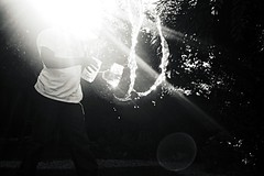 . (willycoolpics.) Tags: light bw white black water mason jars picnik sunflare