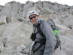 Cypress Peak ascent.. David.. (iwona_kellie) Tags: friends summer snow canada rock britishcolumbia anniversary rocky glacier celebration summit scramble cypresspeak roecreek squamishcheakamusdivide 2083meters returnafter4years
