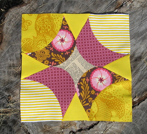 September Block for Busy Bees for Tacha