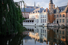 reflections (mhg~) Tags: reflection belgium brugge reportage zf distagont235 distagon352zf