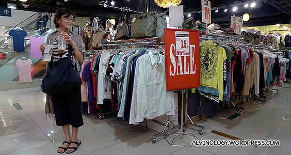 Sale always make us happy :)