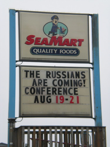 Sitka AK grocery store sign