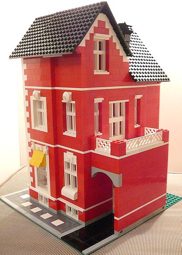house made of legos