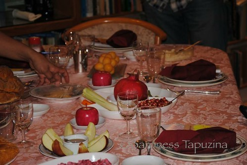 Rosh Hashana Table 122