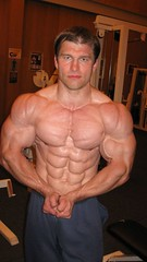 Peter 5 (EdgeJackBate) Tags: shirtless man male pecs ripped rope bodybuilder biceps mostmuscular incredibleabs
