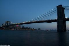 Brooklyn Bridge (flitre ND4) (kazz creation) Tags: bridge brooklyn brooklynbridge nd density densit neutral neutre neutraldensity flitre nikond5000
