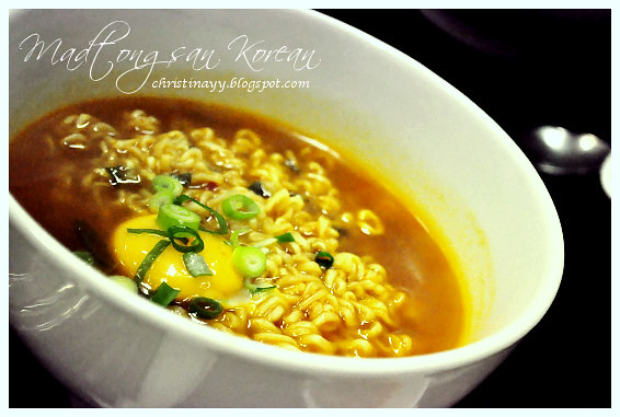 Madtongsan Korean Cuisine: Seafood Flavored Ramen