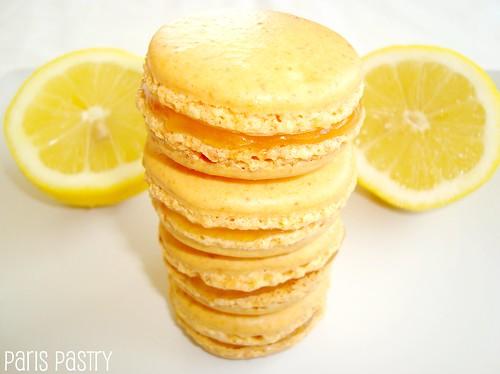 柠檬酱柠檬马卡龙