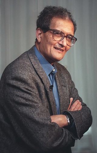 Indian economist Amartya Sen