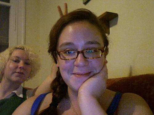 roommate bunny ears