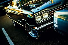 GTX (Garret Voight) Tags: old classic cars minnesota vintage bokeh antique plymouth stpaul front retro headlight mopar carshow gtx autimobiles