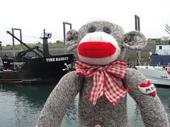 The Time Bandit (grannyinak) Tags: dawg alaska salty sockmonkeys halibut homeralaska seldovia vintagepattern timebandit deadliestcatch rockfordredheelsockmoney