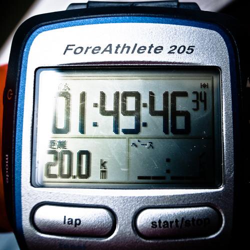 初20km