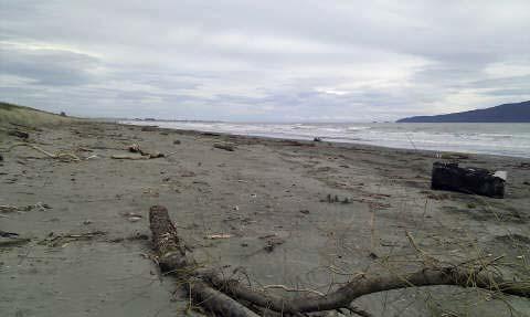 Peka Peka beach