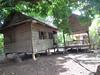 Onze slaapkabine tijdens de homestay (Cambodja)