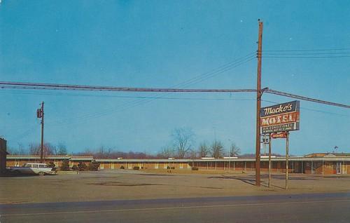Barberton Ohio : ... America Motel Postcard Archive: Mackos Motel - Barberton, Ohio