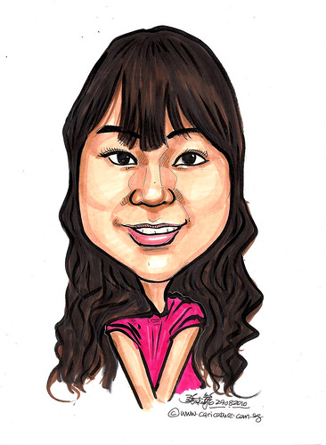 Caricature for Red Cross - 4