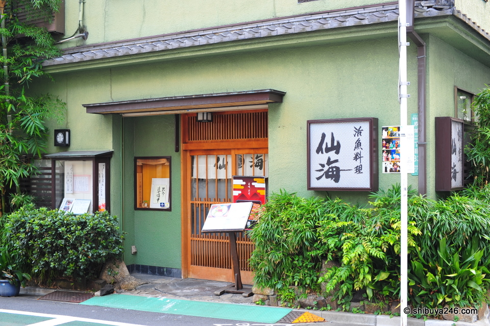 A nice traditional restaurant near the station