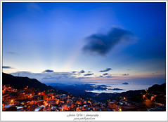 _MG_2514 (Justin1006 (Justin Yeh )) Tags: sunset night twilight taiwan  taipei      jiufen    rueifangtownship