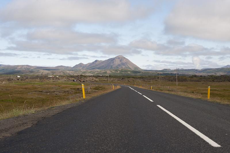 Road to Reykjahlíð