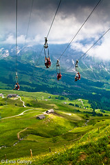 The First Flyer Grindelwald (Essa Al-Sheikh - @Bo3awas) Tags: trip canon photography switzerland flyer europe first filter 7d grindelwald essa graduated 2010 the alsheikh 24105mm
