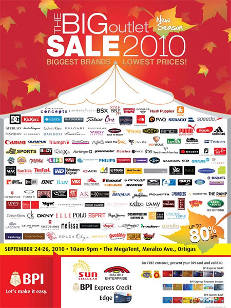 Win Tickets to The Big Outlet Sale 2010 from Mukhang Pera - Freebies, Giveaways, Promos for Pinoys - PinayReviewer.com