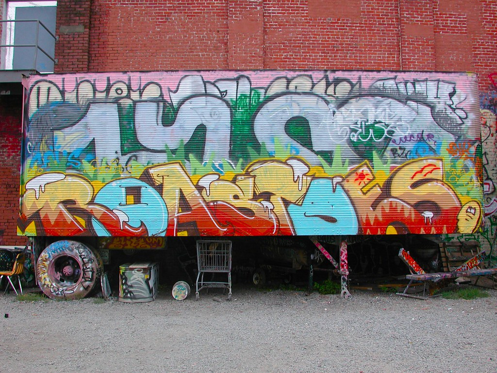 ROAST, ROASTOES, Graffiti, Petaluma, Free Wall