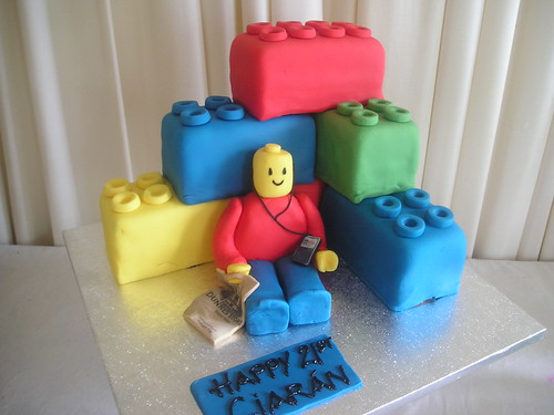 Lego Cake by Cannaboe Confectionery