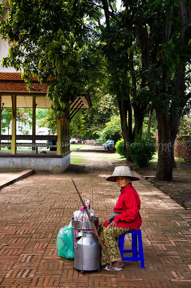 Vendor @ Ayutthaya, Thailand