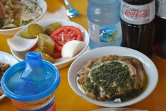 Hummus masabacha at From Gaza To Berlin (Yzukerman) Tags: berlin jerusalem hummus gaza between