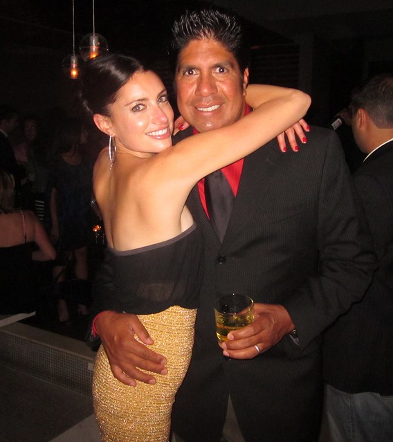 Samantha Gutstadt, Gordon Vasquez, RealTVfilms Social Media Lounge Wrap Party, Toronto Film Festival