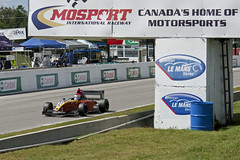 Carlos Conde, Star Mazda, finish line, Mosport (Richard Wintle) Tags: ontario canada durham mazda finishline mosport startfinishline starmazda mosportinternationalraceway pitstraight mobil1grandprixofmosport starracecars