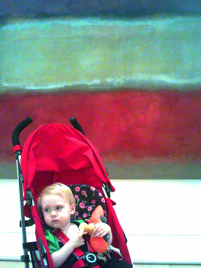 Eleanor at the Art Institute
