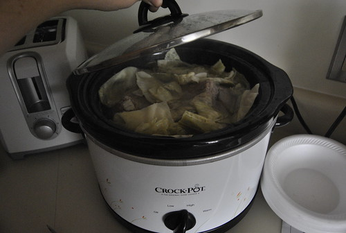 Cabbage in the Crockpot